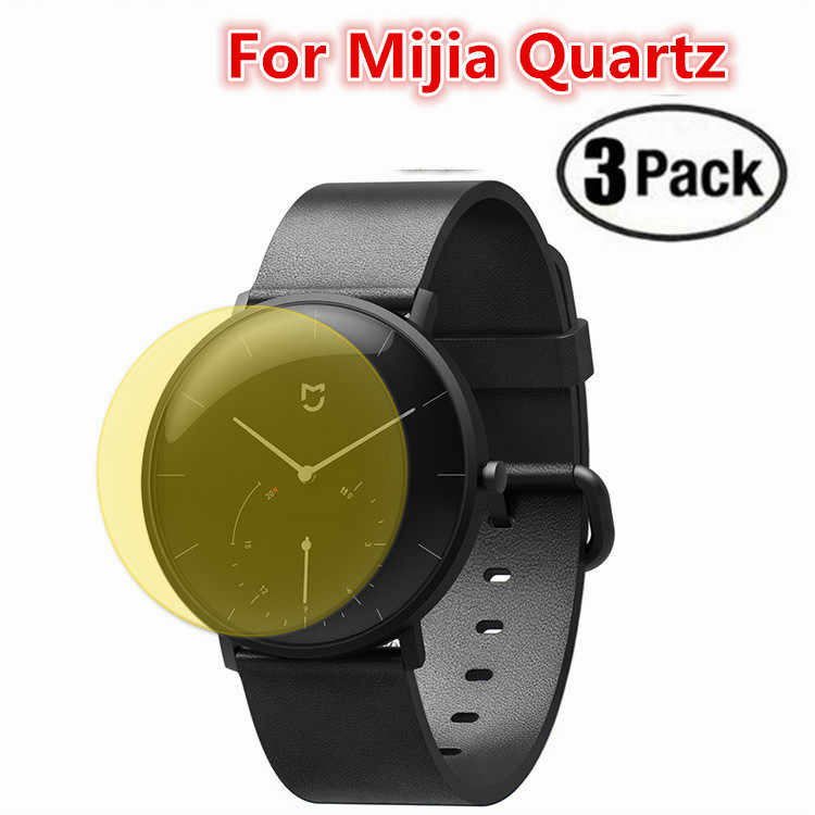 Silicone Tpu Clear Protective Film For Xiaomi Mijia Quartz Smart Watch BT IP67  Anti-scratch Full Screen Protector