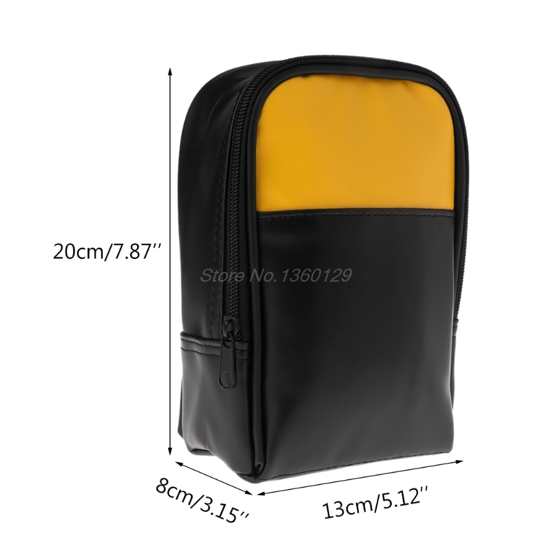 Soft Carry Case Tool Bag For Handheld Multimeter 15B 17B 18B 115 116 117 175 177 179 AUG_22 Wholesale&DropShip