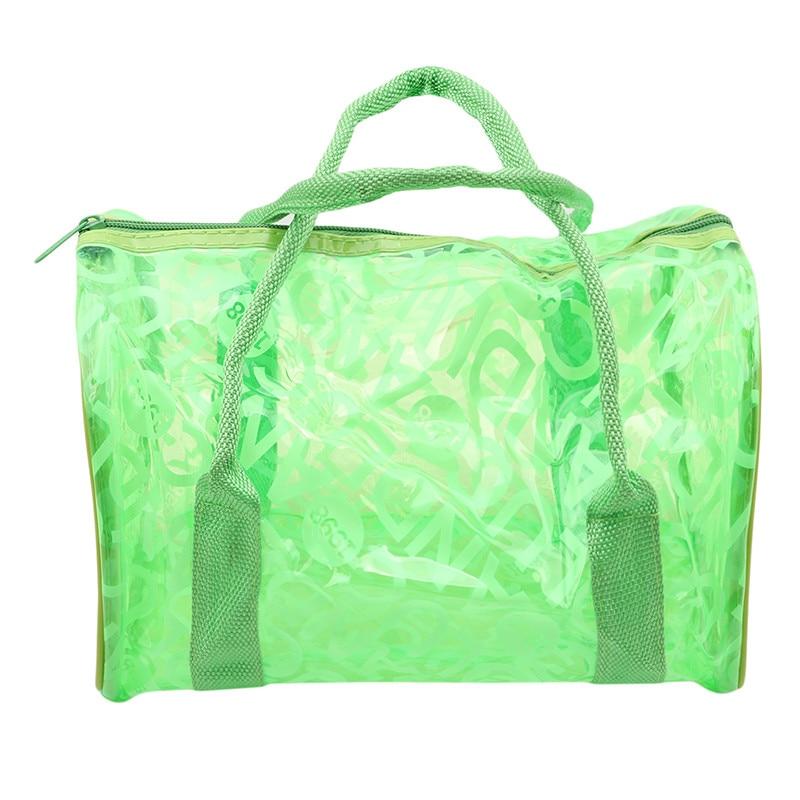 4b09862710 Dropwow Women Swimming Bag Waterproof Handbags Transparent PVC ...