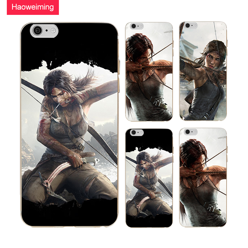 Tomb Raider Silicone Soft TPU Cover Case For Samsung Galaxy S3 S4 S5 S6 S7 S8 S9 Edge Plus A3 A5 A6 A7 H485