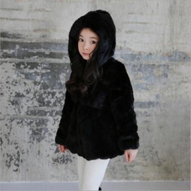 4278c4a7a Furry 2018 Autumn Winter Girls Boys Baby Girl Faux Fur Jackets Coats ...