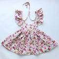 2015 Новый последний урожай цветочные девушки одеваются розничная оптовая новорожденных девочек летние платья много цветов в акции