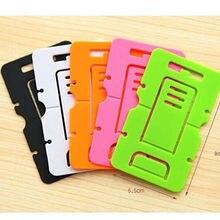 500 шт./лот нескольких цветов Кронштейн для мобильного телефона держатель подставка для iPhone Samsung HTC стоял