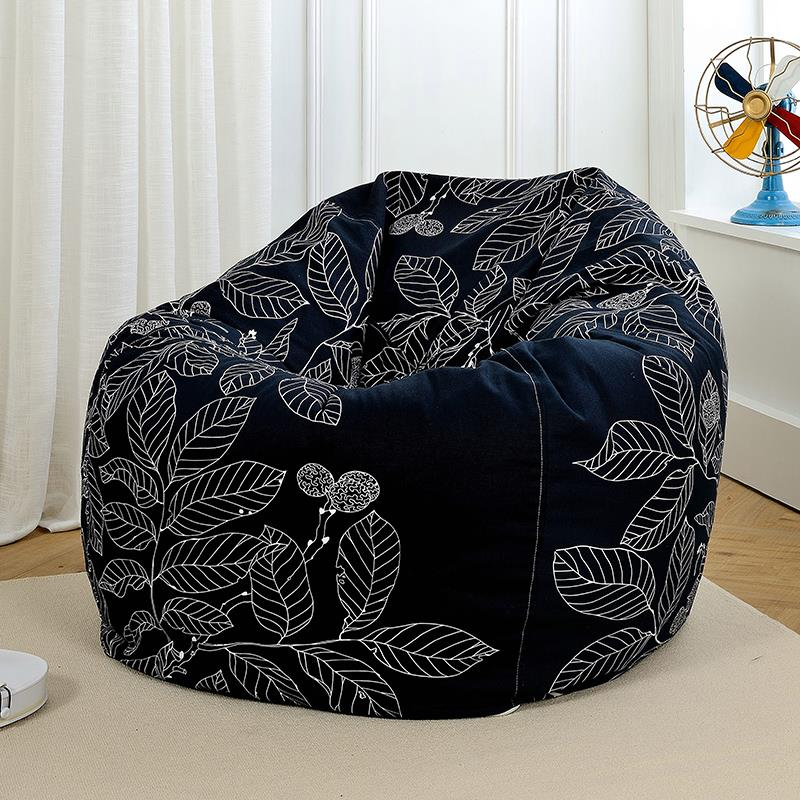 The  Bean Bag Chair Garden Camping Beanbags Cover Lazy Sofa Modern Beanbag Sofa Living Room lazy sofa bean bag with pedal creative single sofa bedroom living room lazy stool tatami