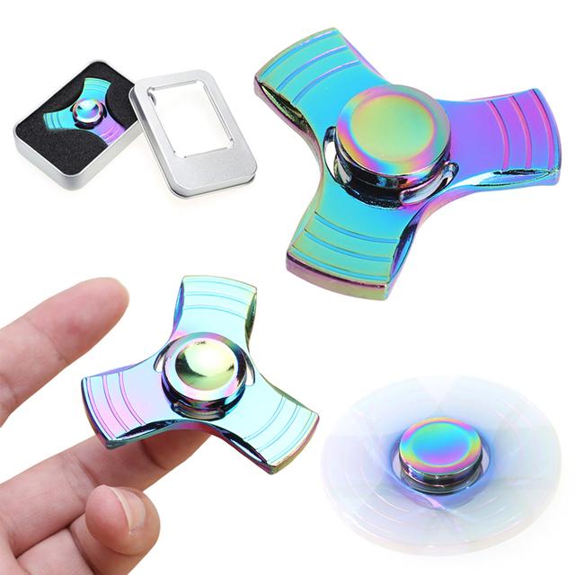 Metal Fidget Spinner with Case