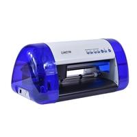 Digital Vinyl Sticker Cutting Plotter DC240, PU PVC A4 Size 100V 240V Desktop Automatic Plotter Home Office 290*2000MM 2018 New