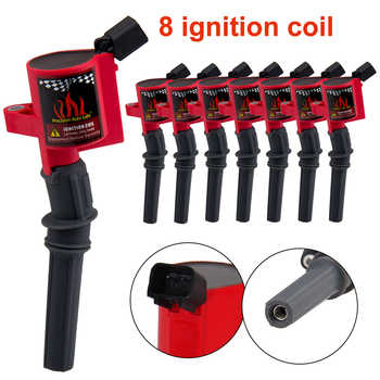 PRECISION AUTO LABS 8PCS New Ignition Coil For Ford Multispark Epoxy  C1454 4.6L 5.4L V8 V10 DG508R8 3W7Z12029AA 71HM123 - DISCOUNT ITEM  27% OFF All Category