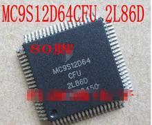 100% NOVA Frete grátis MC9S12D64CFU 2L86D