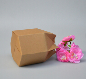 Image 4 - Оптовая крафт бумажная коробка с веревкой маленькие подарочные коробки для бутика выпечки печенья/конфеты упаковочная коробка картонная коробка 50 шт