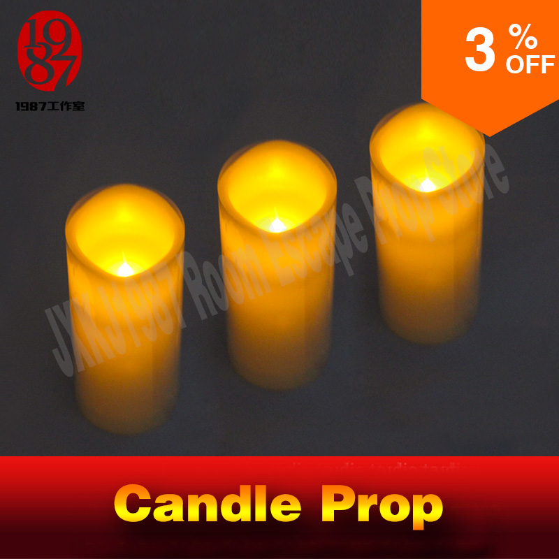 Real life escape room game propTAKAGISM game prop blow candles out or up in order blow sensor blow on the lamps to open the door массажер ляпко одинарный 6 2мм 105х230мм