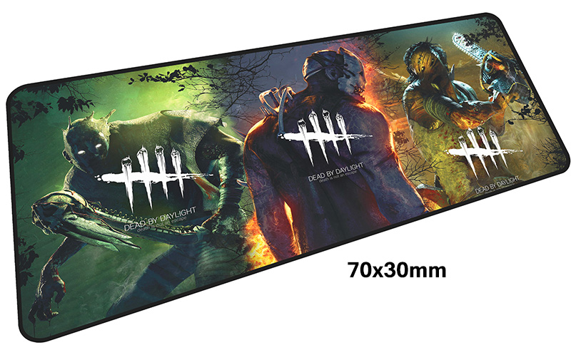 dead by daylight gaming mousepad laptop pad to mouse pad 700x300mm notbook computer computer mouse pad HD print gamer play mats