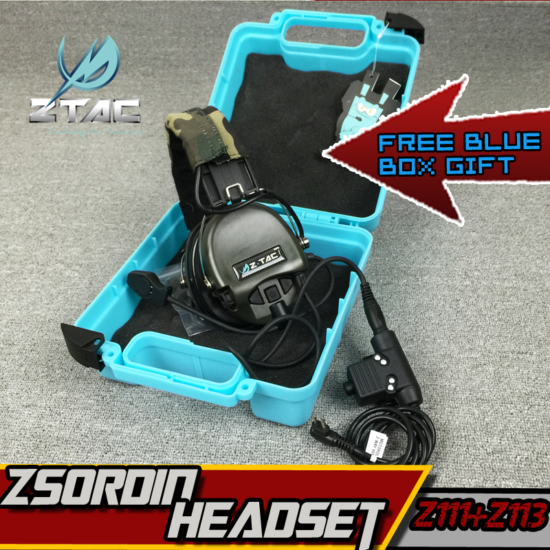 Z-TAC Softair Z Tactical Headset Arsoft Sordin Noise Reduction All For Hunting Active Headphones Midland kenwood PTT EarphonesZ-TAC Softair Z Tactical Headset Arsoft Sordin Noise Reduction All For Hunting Active Headphones Midland kenwood PTT Earphones