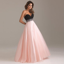 Elegant Illusion Crystal Sashes Evening Dress Floor-length A-line  Sweetheart Neck Empire Evening 669ffe407e1b