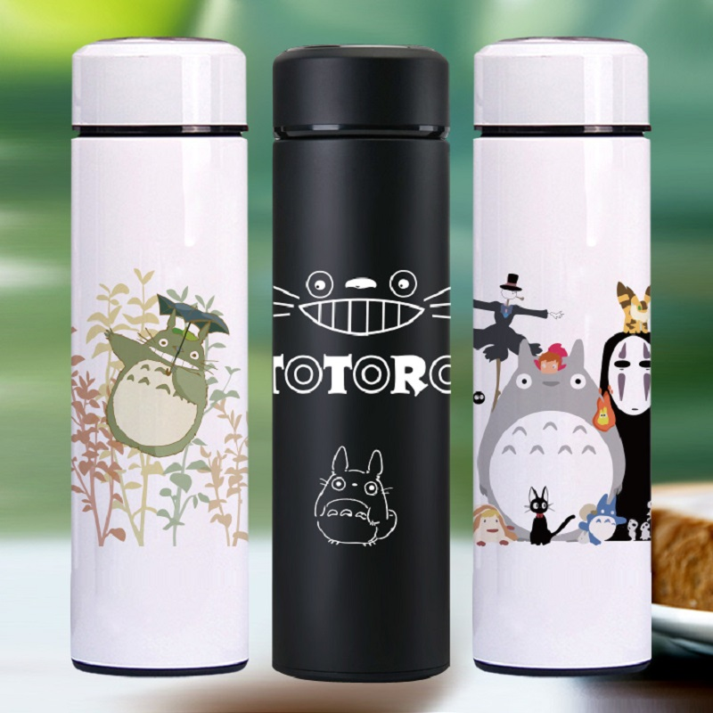 OUSSIRRO High Quality Totoro Dejlige Thermos Pretty Coffee Thermos Mug Rustfrit Stål Vacuum Cup Sports Water Bottle