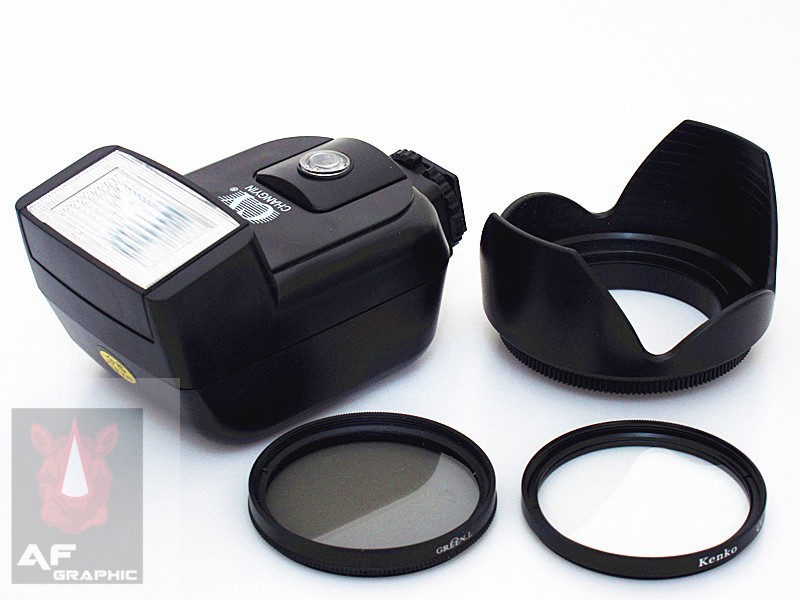 Multithreaded Glass Filter Multicoated C-PL Circular Polarizer for Canon EOS Rebel XTi 52mm