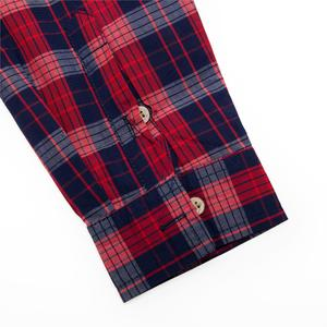 Image 3 - Fredd Marshall 2019 جديد الموضة منقوشة قميص الرجال عادية كم طويل سليم قمصان مناسبة مع جيب 100% القطن عالية الجودة 198