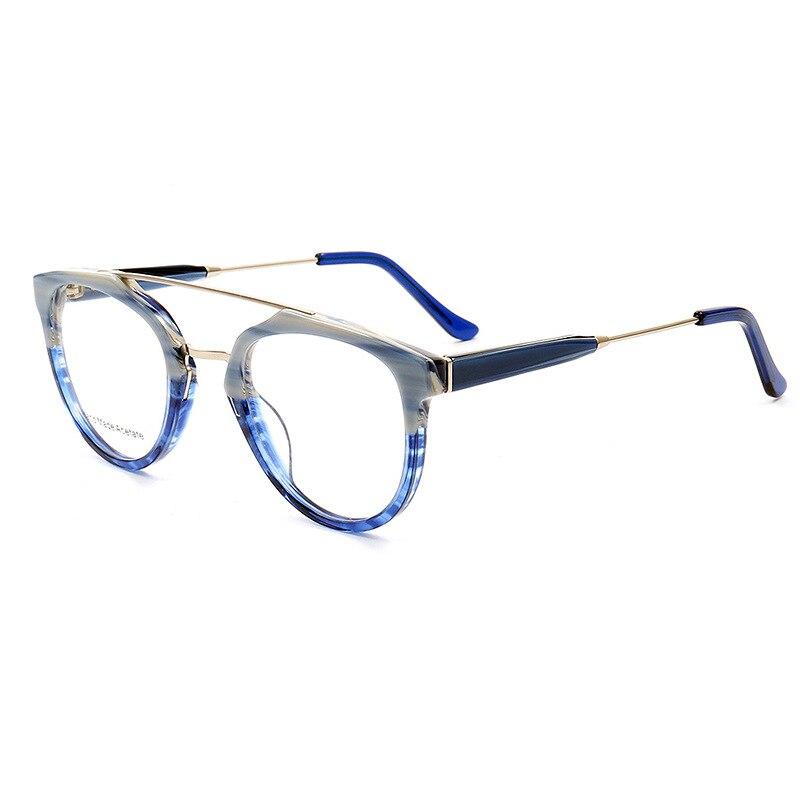 Fashion Vintage Optical Acetate Glasses Frame Full Rim Stylish Retro Prescription Eyeglasses Spectacles Frame Eyewear Unisex