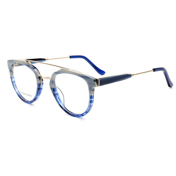 Fashion Vintage Optical Acetate Glasses Frame Full Rim Stylish Retro Prescription Eyeglasses Spectacles Frame Eyewear Unisex hotony fashion men titanium alloy glasses frame optical eyeglasses prescription eyewear full rim frame spectacles vision frame