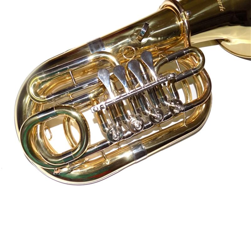 Bub Junior Tuba 4 Βαλβίδες Ύψος 612 χιλιοστά - Μουσικά όργανα - Φωτογραφία 3