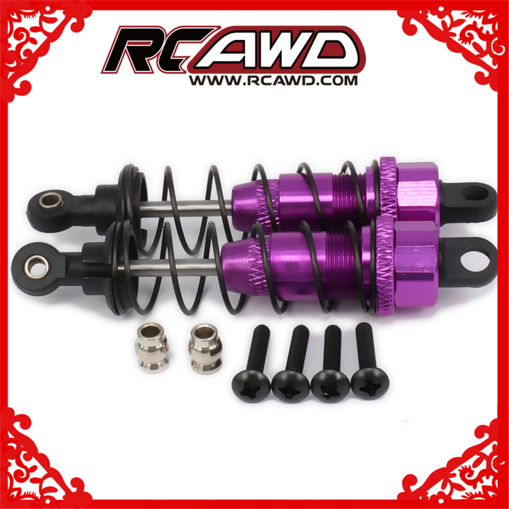 Oil Adjustable 85mm Alloy spring Shock Absorber atv Damper For Rc Car 1/10 Hpi Hsp Traxxas Losi Axial Tamiya Redcat Himoto Losi