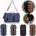 Canvas Laptop Backpack Rucksack Mens Bag Shoulder Travel 42cmx25cmx25cm