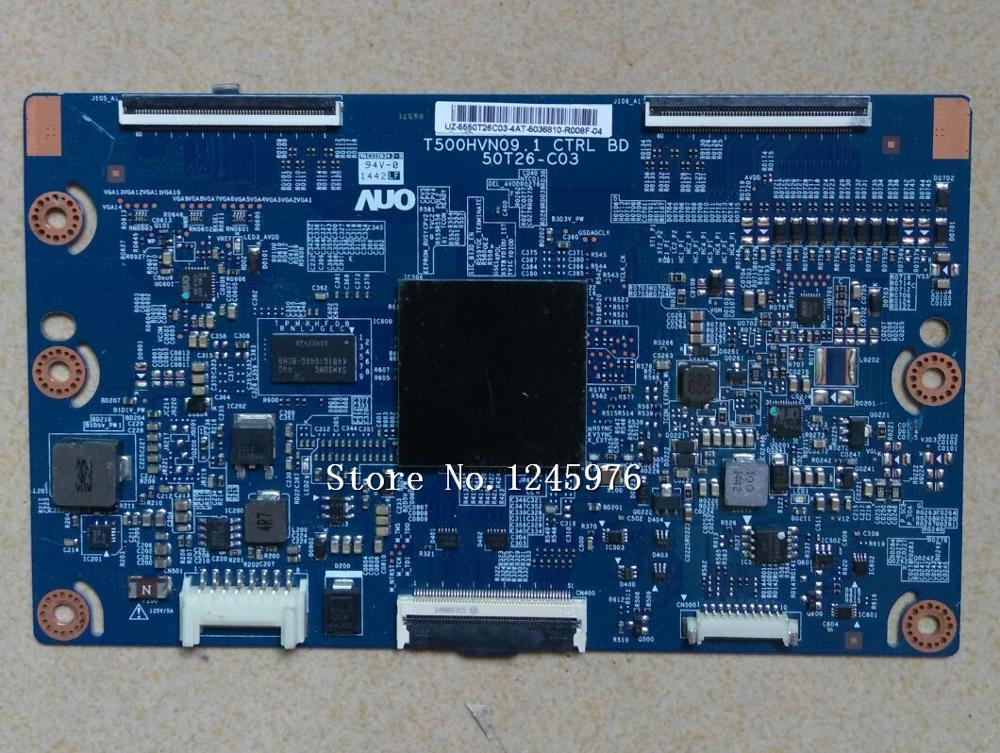 100% original T500HVN09.1 CTRL 50T26-C03 logic board dimensions guarantee quality 90 days