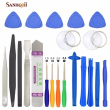 20 in 1 Mobile Phone Repair Tools Kit Spudger Pry Opening Tool Screwdriver Set for iPhone iPad Samsung Cell Phone Hand Tools Set