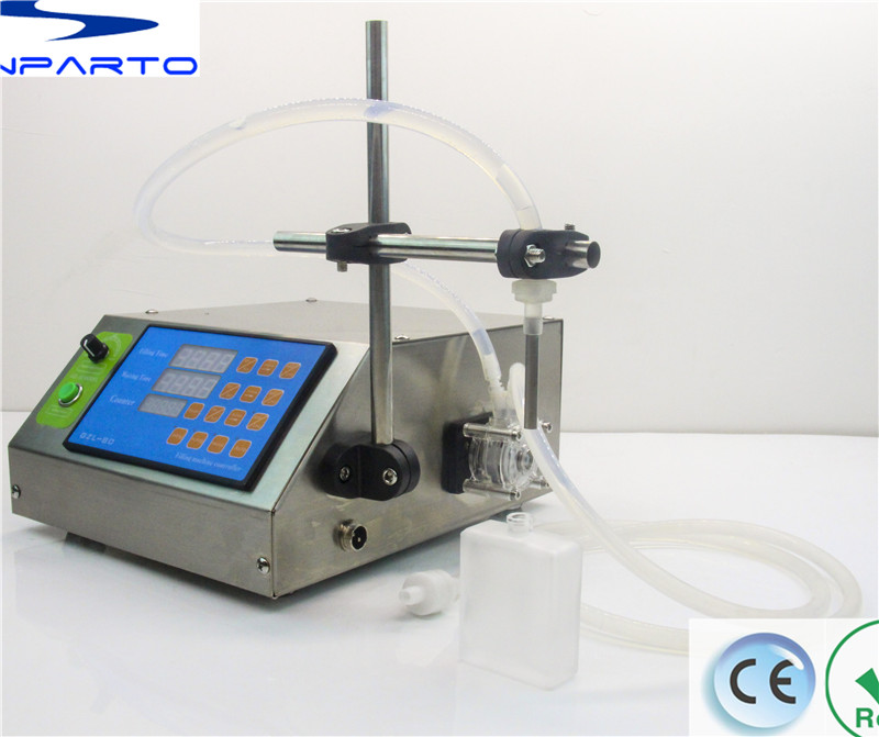 CE RoHs single-nozzle peristaltic pump filling machine GZL-50 e-liquid filling machine perfume filler