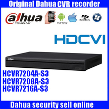 Original DAHUA 4 8 16CH Tribrid 1080P 1U HDCVI DVR Support 2HDD with dahua Logo HCVR7204A