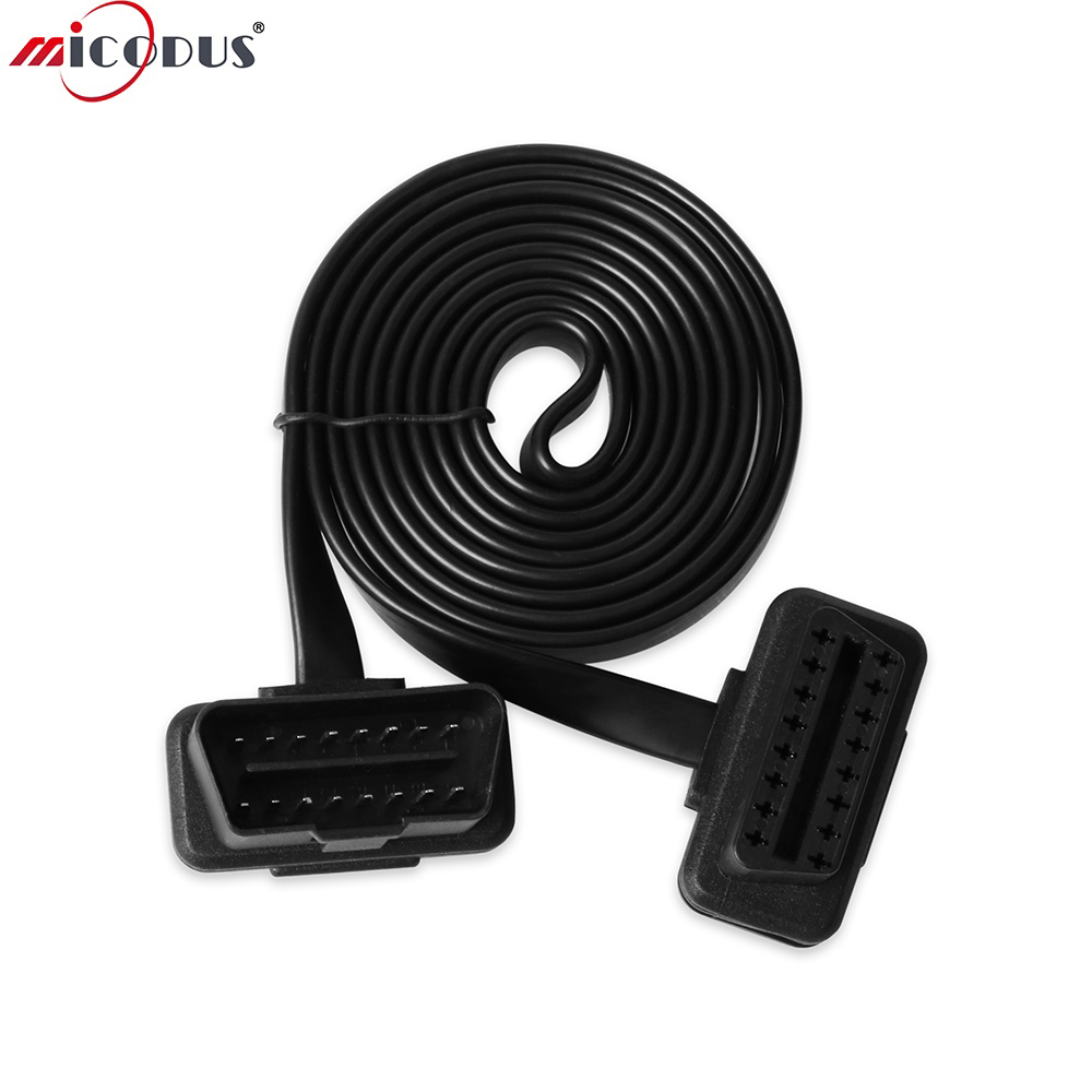 1.5M 16Pin OBDII Extend Cable For Queclink GV55 GV55VC Tracker Tracking Locator Tracking Device|location tracking device|tracking device|locator device - title=