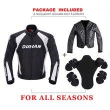 Moto DUHAN chaqueta deportiva de la motocicleta para montar deporte Oxford  chaqueta ropa Motocross OffRoad protección 99904719e0d23