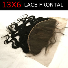 7A Ear To Ear 13×6 Lace Frontal Closure Top Grade Brazilian Body Wave Virgin Human Lace Frontals With Baby Hair Bleached Knots