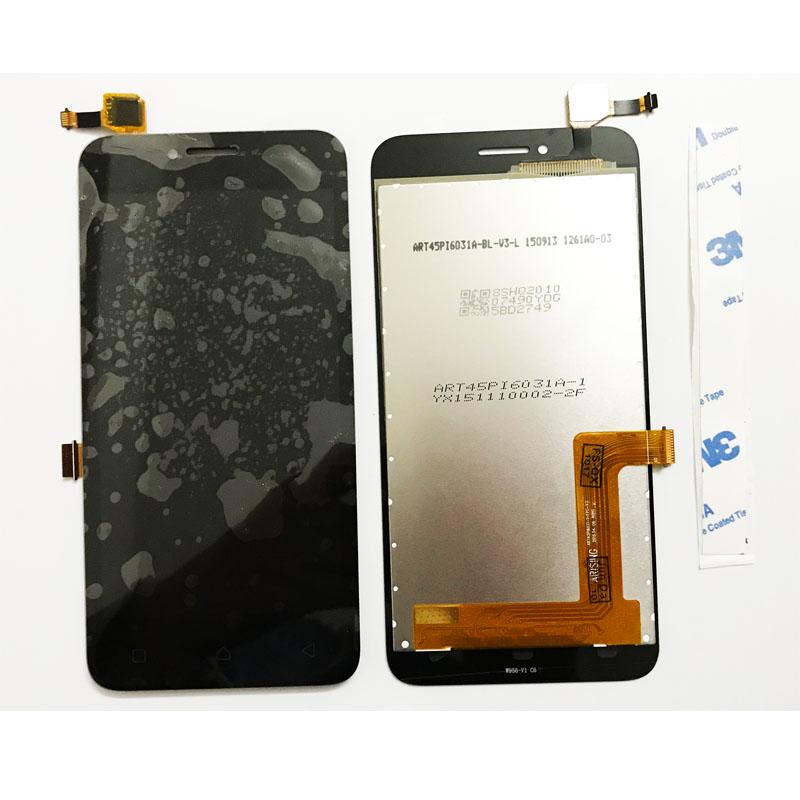 New LCD Screen For Lenovo Vibe B (A2016) A40 Display LCD Touch Screen Digitizer Glass Assembly With Adhesive Repair Parts