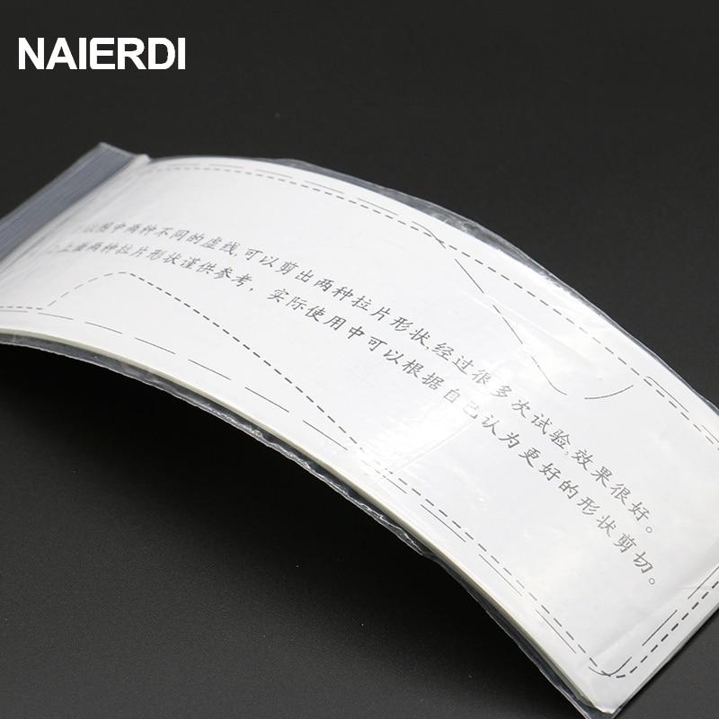NAIERDI 5PCS Szilárdság műanyag-acél betétlap lakatos - Kézi szerszámok - Fénykép 6