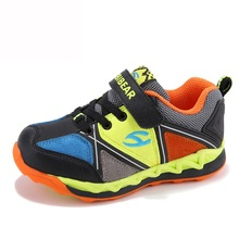 Kids Sneakers Boys Breathable Mesh Unisex 2017 Outdoor Shoes For Boys Girls Slip Resistant AS3057