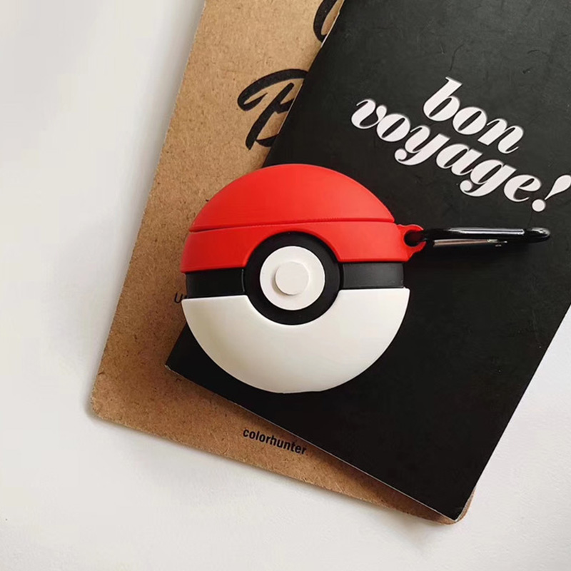 Image 2 - For AirPods Apple Case 3D Cartoon Pokemons Eevee Gengar Headphone Case For Airpods 1 2 Silicone Case Accessories Protector Cover-in Earphone Accessories from Consumer Electronics