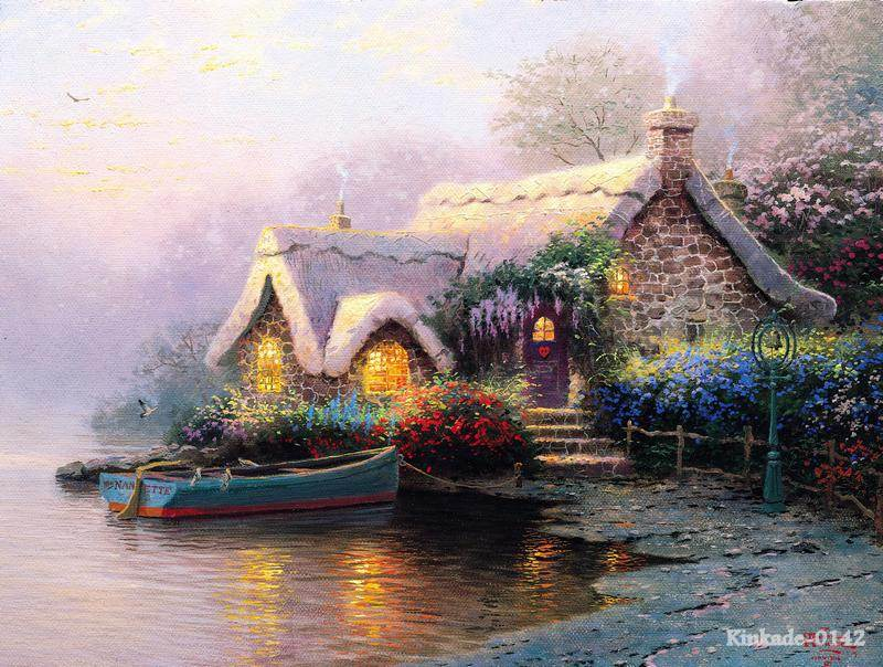 Compare Prices On Cottage Painting Online Shopping Buy Low Price Cottage Painting At Factory