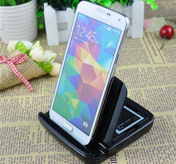 Dock Station For Samsung Galaxy S5 Battery Charger i9600 Micro USB Chargers Cargador Celular Portable Carregador