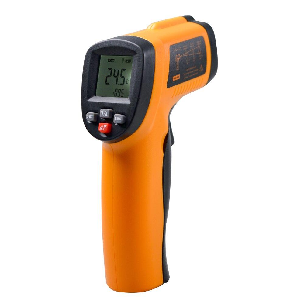 Digital Temperature Meter : Popular laser temperature sensor buy cheap