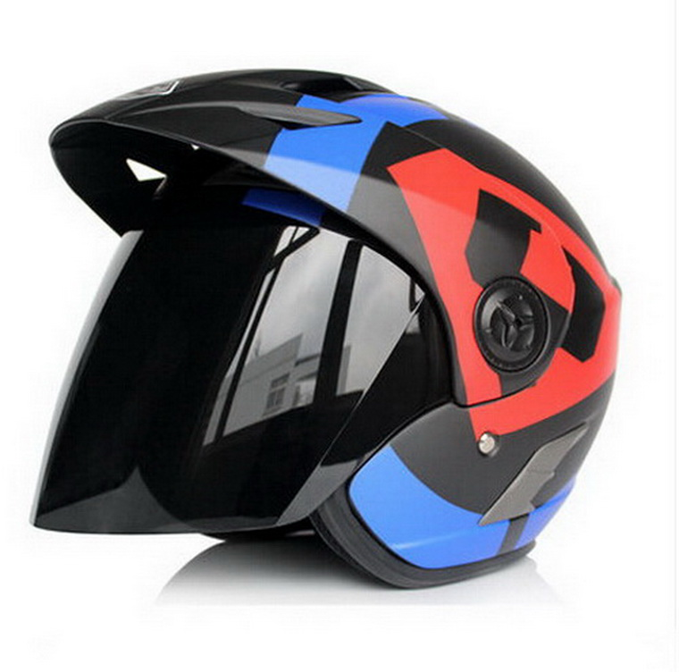 Off Road Half face helmets Eternal motorcycle helmet electric bicycle spring and autumn male Women helmet yh887 scoote dirt bike masei green air jet helmet pilots flying helmets motorcycle half helmet electric bicycle open face pilot helmet free