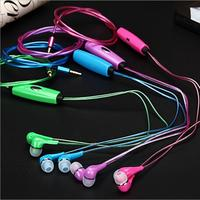 Free Shipping Hot Selling Cold Light EL Luminous Headset Foreign Trade Burst Light Headphones Cold Light