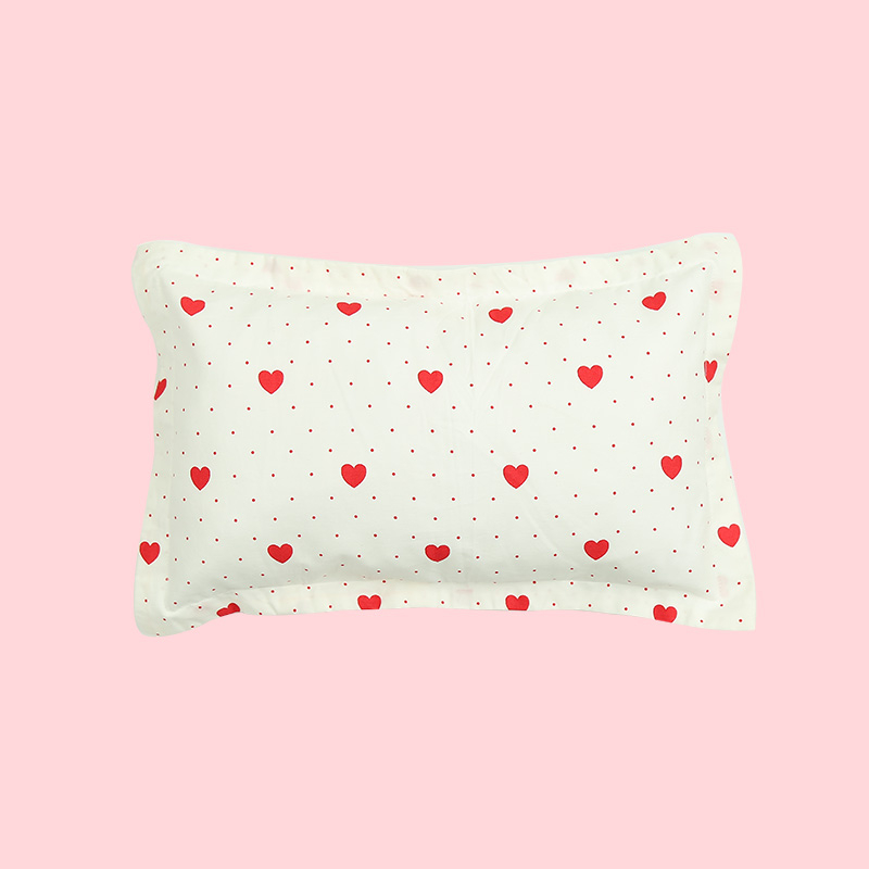 2 Pcs/lot Pure Cotton Baby Pillowcase Random Color Baby Pillow Cover Cartoon Kids Pillow Case Infant Pillowcover Without Filling