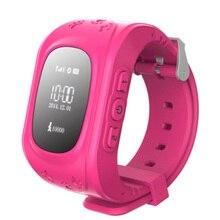 Novo q50 gps smart kid safe smart watch sos chamada local Monitor de localizador Localizador Rastreador para Criança Anti Perdido Bebê Filho de Pulso