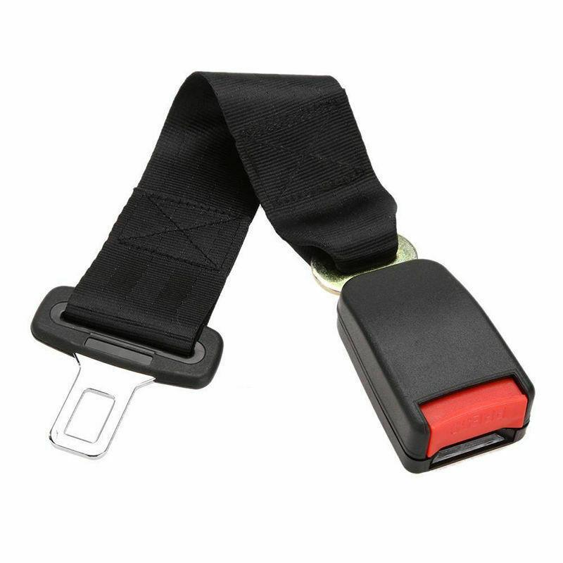 36cm//14 inch Car Seat Seatbelt Safety Belt Extender Extension 2.1CM Buckle
