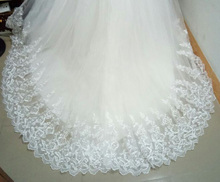 Train Wedding Dress 2016 Cheap Celebrity Strapless Vintage Tulle Bridal Ball Gown Organza Lace bridal dress