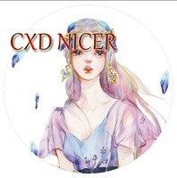 Brede Karakter Washi Tape Scrapbooking Stickers Fairy Meisje Decoratieve Scotch Tape Plakband