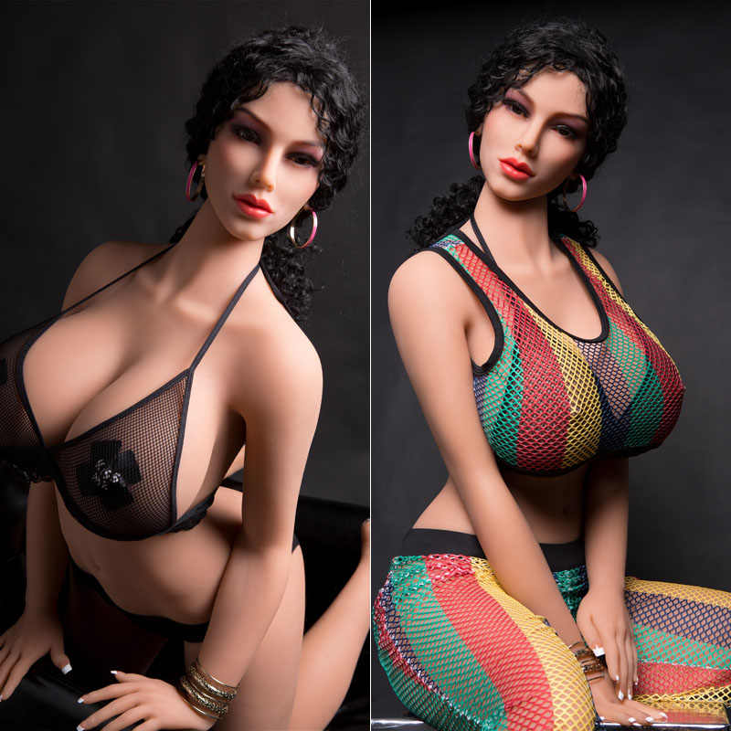 30 #170 Cm Kualitas Tinggi Payudara Besar Nyata Silikon Boneka Seks Pria Realistis Vagina Mulut Kucing Ass TPE dan kerangka Logam Seksi Kecantikan