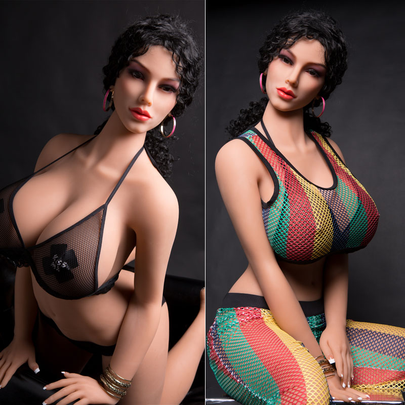 30# 170cm High quality big breasts real silicone <font><b>sex</b></font> <font><b>doll</b></font> man realistic vaginal oral <font><b>cat</b></font> ass TPE and metal skeleton sexy beauty image
