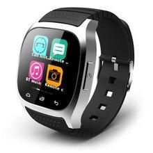 2016 neue Ankunft RWATCH M26S Smart Sport Bluetooth Uhr Smartwatch Android Mit anti-verlorene alarm Und Kamera Fernbedienung Funktion
