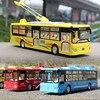 Wysoka symulacja model tramwajowy, 1:50 skala alloy wycofać model autobusu, odlewany metal model, dźwięk i światło samochodzik, darmowa wysyłka